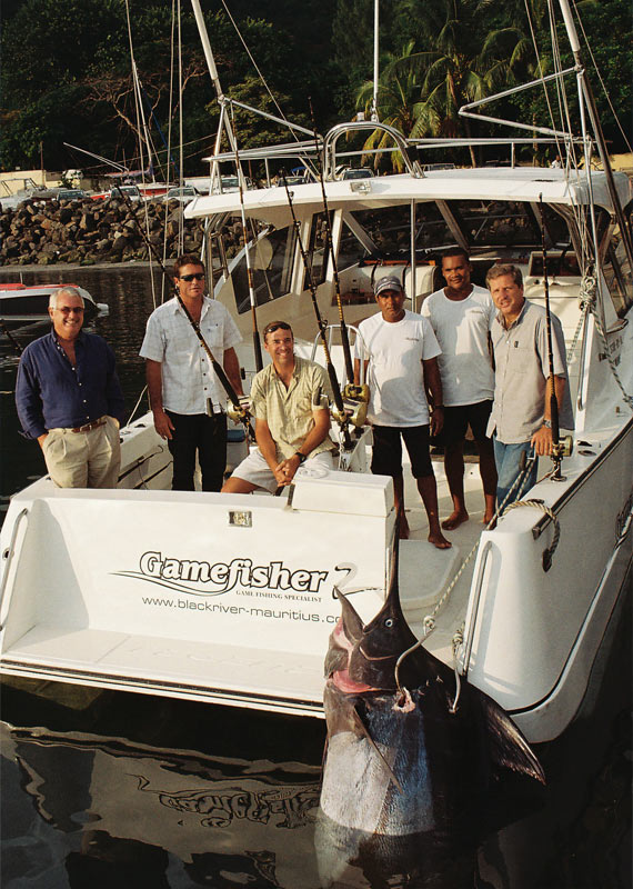 Big Game fishing experts in Black River, Mauritius