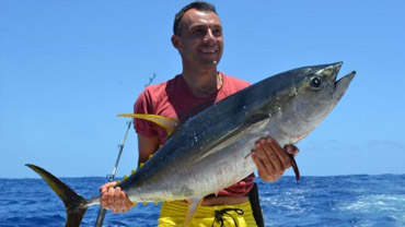Big Game Fishing Jigging Mauritius